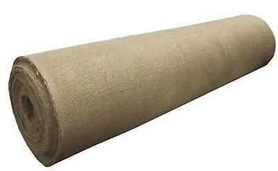 "Burlap Roll 10oz 40"" Wide, 20 Yards (60 Feet) - Premium Jute"