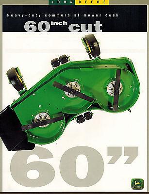 JOHN DEERE GT235 GARDEN TRACTOR MOWER BROCHURE  LITERATURE AD