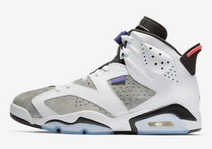 5aa3e7d8257641 Nike Air Jordan 6 Retro SZ 11.5 Flint Grey Infrared Flight Nostalgia ...