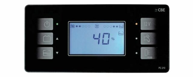 CBE PC210 KIT BLACK electrical control system motorhome caravan campervan pc200