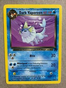 Dark Vaporeon Uncommon Pokemon Card Team Rocket 45//82