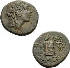 Amisos Pontos Bronze 85-65 v.Chr. Dionysos Cista Mystica Thyrsos SNG BM 1201