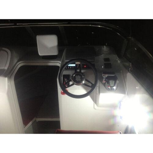 Marine 12 Volt Fluorescent Lights: 12V 2x Cabin Dome Light-Boat/Marine/Caravan/Ceiling Lamp