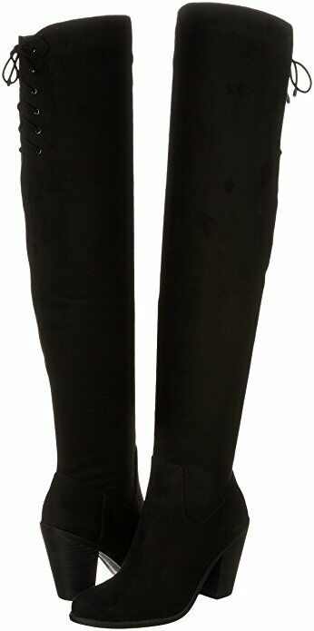 Jessica Simpson Boots Coriee Over The Knee Boot Black Stretch 6.5M