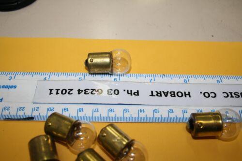 GLOBE LAMP BULB juke jukebox #81 x 10 of Seeburg AVIATION MARINE 6.5 volts 1 amp