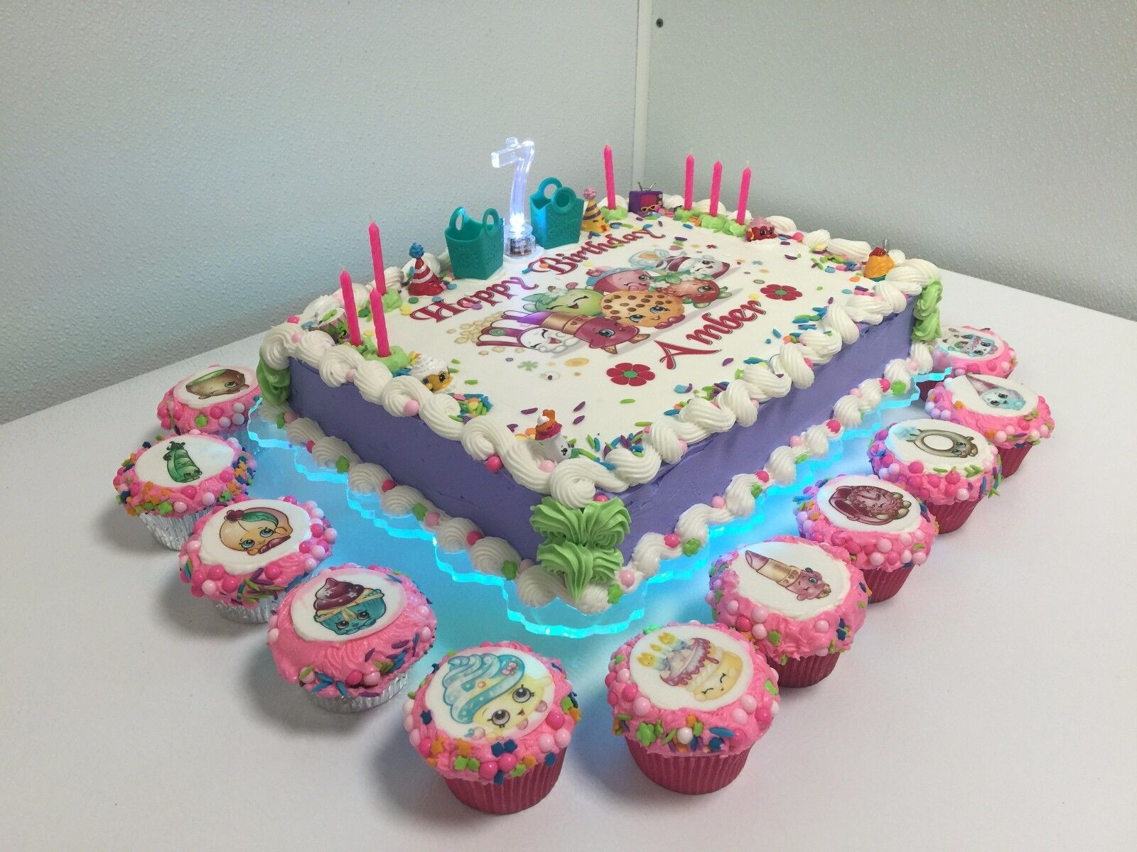 1 4 SHEET LIGHTED CAKE STAND OR PLATE WEDDINGS BIRTHDAY ANNIVERSARY CAKES BAKERS