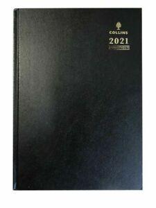 Collins-2021-Quarto-Semana-Vista-Cita-Negro-Calendario-Ano-Escritorio-Diario-A36
