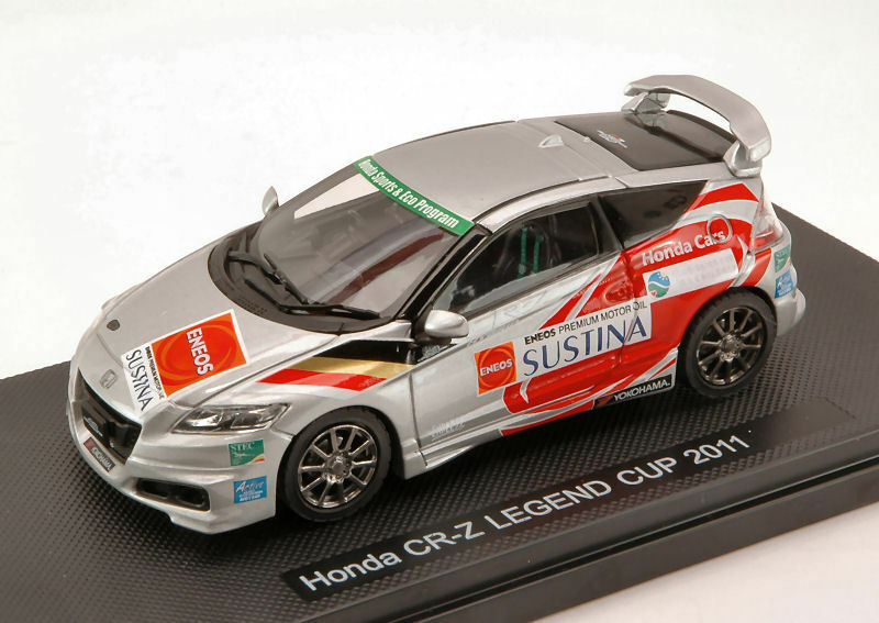 Honda CR-Z Legend Cup 2011 plata (Decals n.14 17 82) 1 43 44695 EBBRO