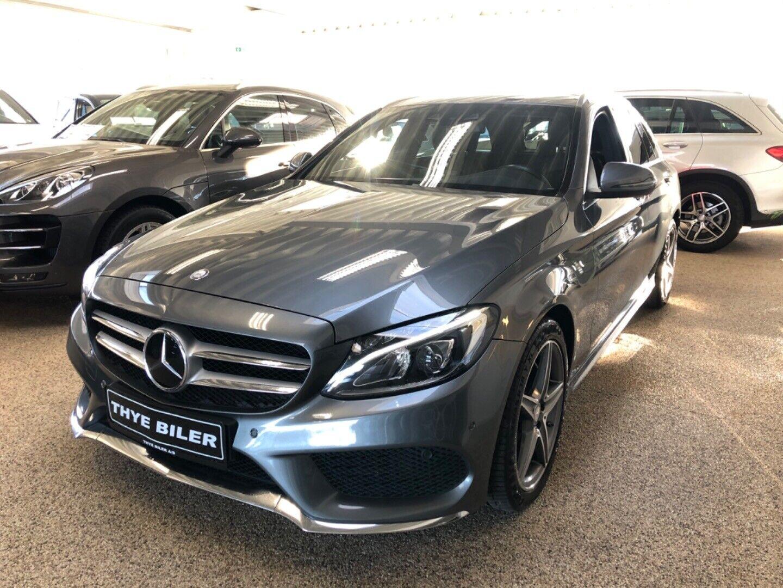 Mercedes C220 d 2,2 AMG Line stc. aut. 4-M 5d - 349.900 kr.