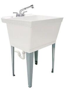 Image Is Loading Utility Sink Large Pet Bath Spa 23 034