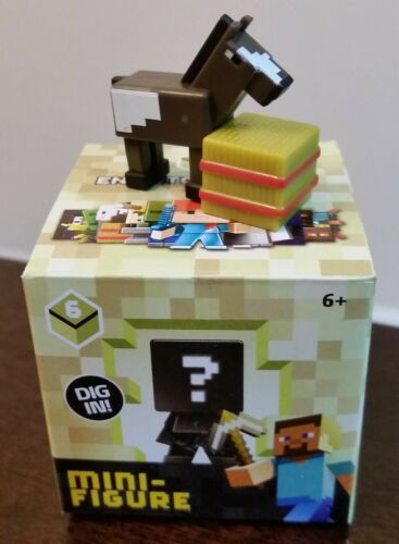 Minecraft Mini-figure End Stone Series 6 Baby Horse Newly Deboxed