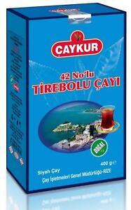 Caykur Turc Thé Noir, 42 No Tirebolu Thé, Sans Pesticides 2x200g (14,6 Once)-afficher Le Titre D'origine