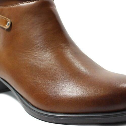 Remonte Inka R5170-24 Brown Leather Womens Heeled Ankle Boots