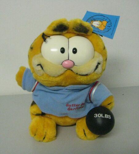 Vintage Dakin 1980/'s Bowling Garfield Sports Stuffed Animal Plush NEW with Tags