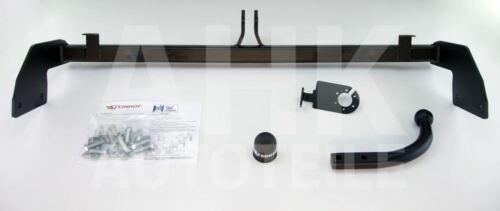 Für Hyundai ix20 5-Tür Anhängerkupplung starr+ES 7p ABE