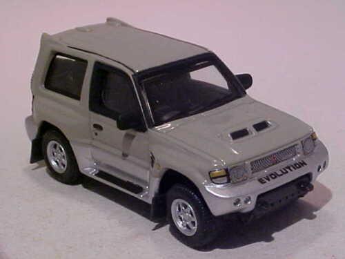 "2/"" Mitsubishi Pajero Evolution 1998 Cararama Hongwell 1//72 Diecast Mint Loose"