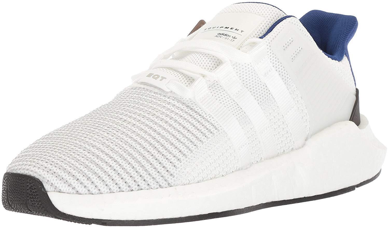 Adidas Originals hombres EQT / de Apoyo de 93 / EQT Corriendo Zapatos, Blanco / Blanco / Negro, M cc51a8
