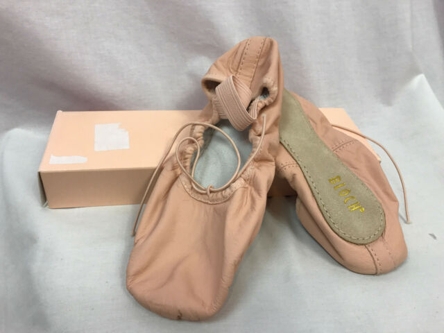 Women/'s Bloch Dansoft Ballet Dance Shoes Pink Leather 7E 8B New!