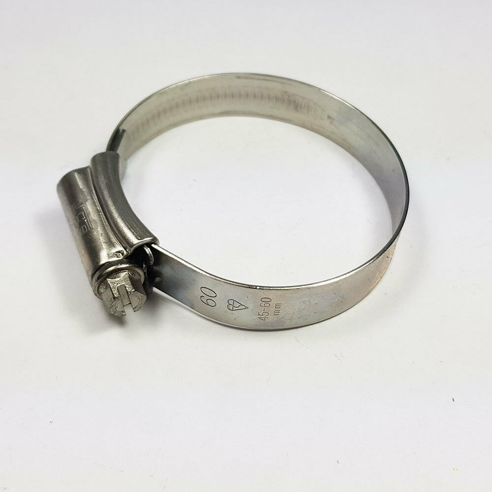 Stainless Steel Hose Clips Jubilee Clip 45mm-60mm JCS Hi-Grip 2X Tubing Worm
