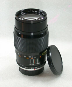 MITAKON-MC-200mm-F3-5-Manual-Focus-Telephoto-Lens-PK-Mount-No-224024