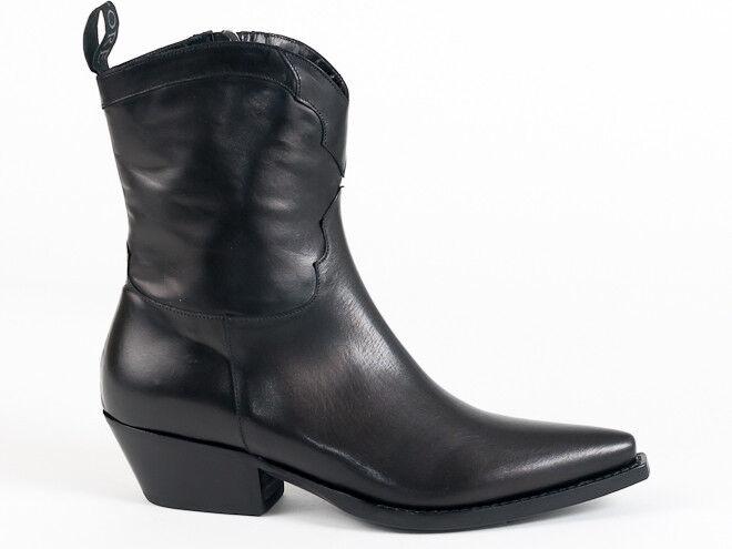 New New New  Sartore Paris Black  Booties 36.5 US 6.5 95c4b0