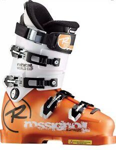 2011-Rossignol-Radical-World-Cup-Mondo-Soft-Solar-Size-24-5-Ski-Boots-Adult-7-5