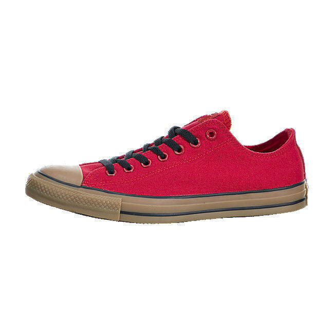 aa02109fdc24 Converse All Star Star Star Chuck Canvas 150877F Red Gum Shoes Men b67f1c