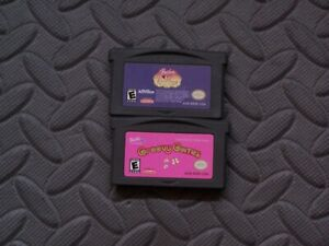 Lot Nintendo Game Boy Advance GBA Games Barbie in the 12 Dancing Princesses +