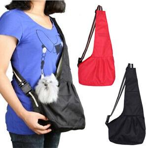 Pet-Carrier-Pet-Sling-Front-Pack-Dog-Puppy-Carrying-Travel-Bag-Tote-Bag-OK