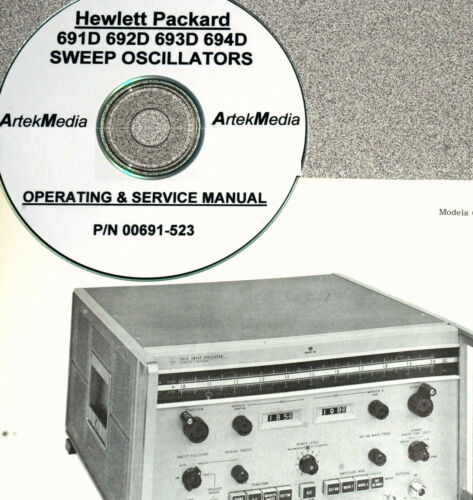 HP 691D 692D 693D 694D Operating and Service Manual