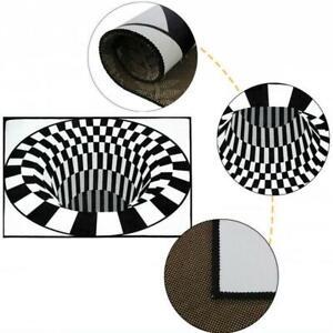 Tappeti-rettangolari-3D-Illusion-Tappetini-per-camera-da-letto-Vortex-Tappeti