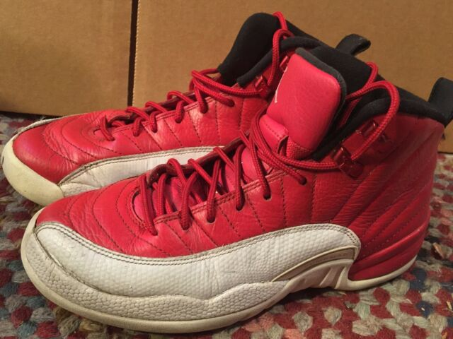 buy online 2eccc 43fe6 Size 5.5 Youth Nike Air Jordan Retro 12 Gym Red Athletic Fashion 153265 600