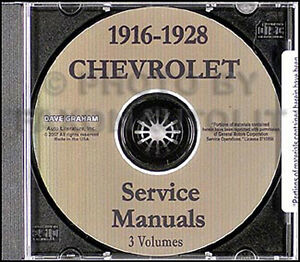 1916 1928 chevrolet shop repair manual on cd chevy 1925 1926 1927 image is loading 1916 1928 chevrolet shop repair manual on cd