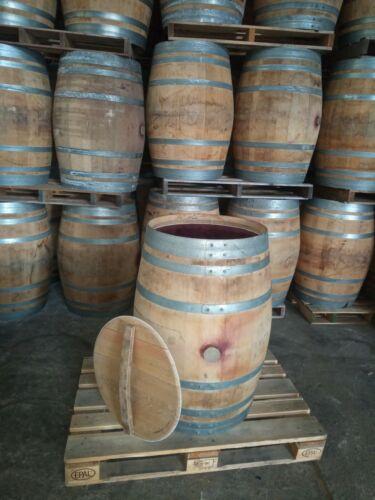Weinfass mit Deckel Holzfass Fass Wasserfass Regentonne