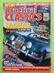 Practical-Classics-DICEMBRE-1995-Austin-Seven-JAGUAR-420G-3-4-MK-2