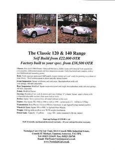 Image Is Loading NOSTALGIA XK 120 AND 140 JAGUAR XK KIT