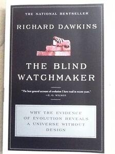 En-ingles-THE-BLIND-WATCHAMAKER-de-Richard-Dawkins