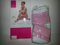 Peak Gel Heel Socks Pink Moisturising Personal Care Products