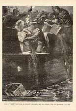 PRINT, 1909, AMERICA, BOSTON, BOSTON BOYS, BOSTON TEA PARTY