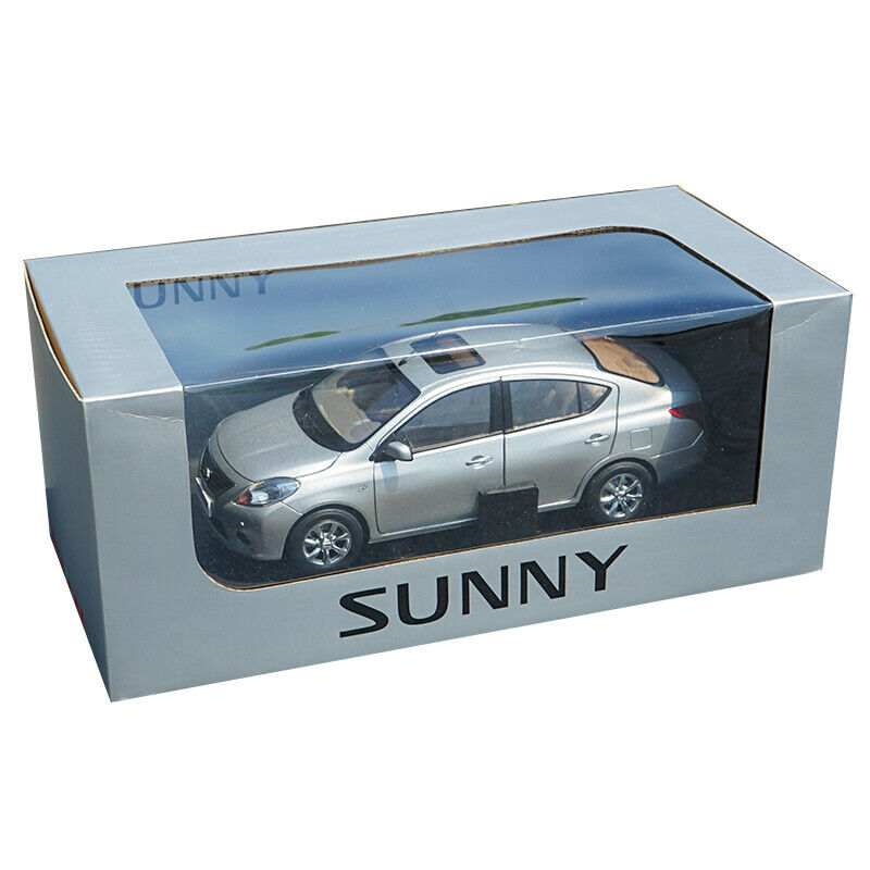 Nissan Sunny Diecast Car Model Toy 1:18