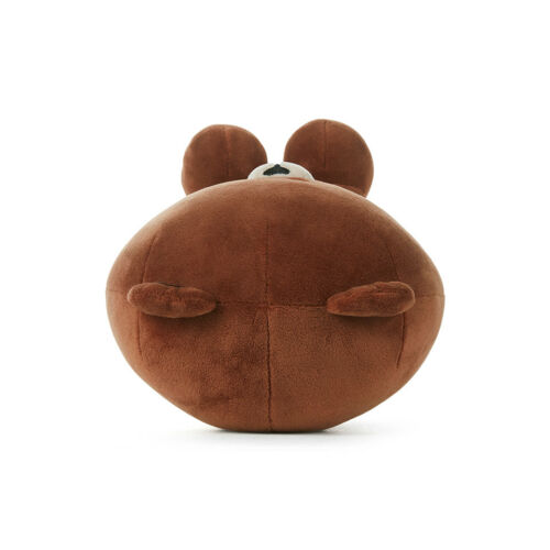 LINE FRIENDS Character Plush Doll Toy SITTING BROWN Large Season 5