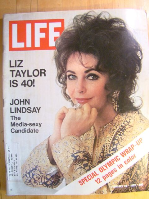 Life Magazine February 25 1972  Liz Taylor Olympic Wrap Up Color Pictures