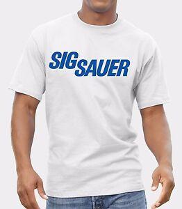 Sig Sauer Logo T-shirt Men Shirt  print by EPSON