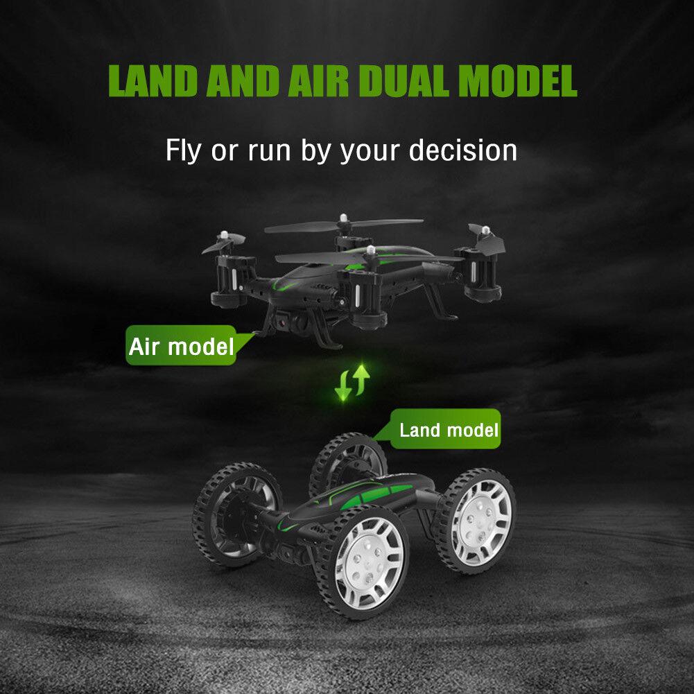 Aplicación de 4Axis WiFi teléfono control RC tierra aire aviones de modo dual de alta velocidad de coche NUEVO