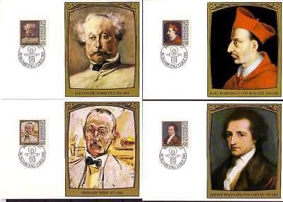 Vornehm Liechtenstein Mk 27 Michelnummer 784-787 Europa europa:15417 Briefmarken