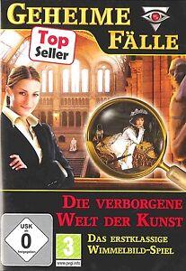 Geheime-Faelle-Die-verborgene-Welt-der-Kunst-fuer-Pc-Neu-Ovp