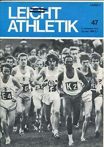 Leichtathletik Nr. 47/1972 - Kornwestheim, Deutschland - Leichtathletik Nr. 47/1972 - Kornwestheim, Deutschland