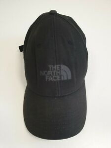 HH914-MENS-THE-NORTH-FACE-BLACK-BASEBALL-CAP-ONE-SIZE-ADJUSTABLE