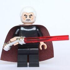 Lego Star Wars Custom Count Dooku Minifigure (Episode II Version) - US Seller