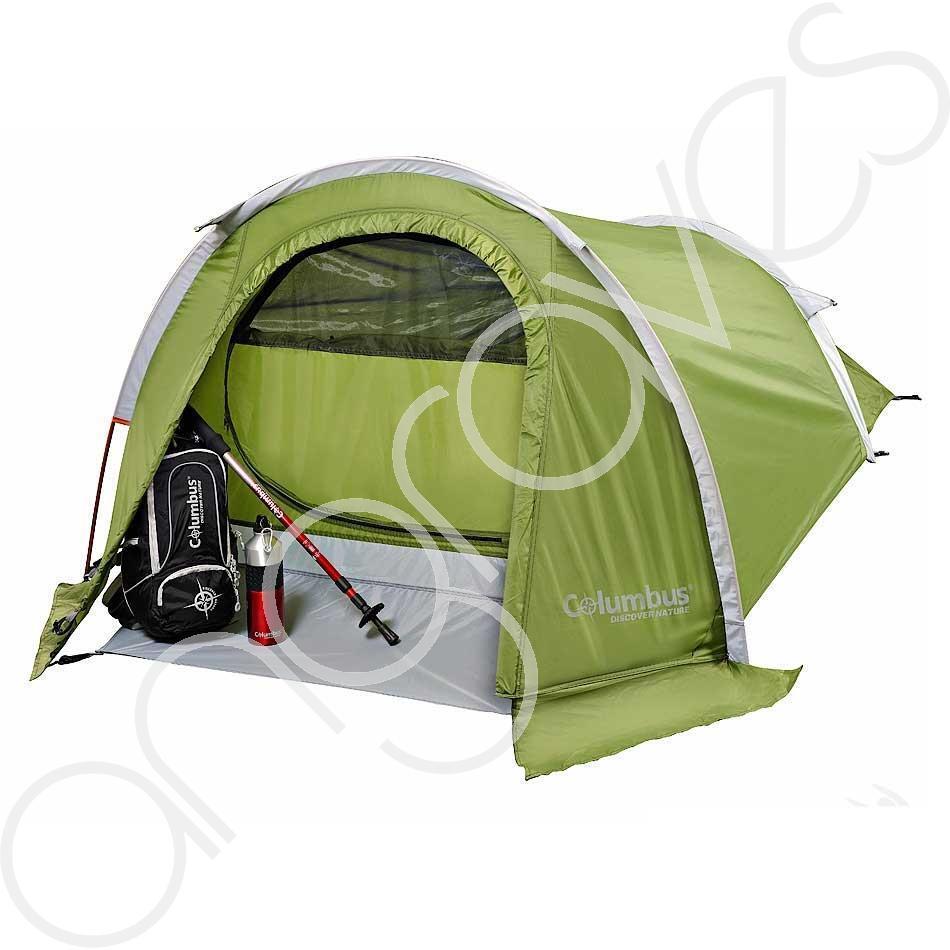 Columbus Discover TEMPEST 2 Tenda singola all'aperto campeggio 2000 mm